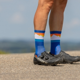 Glacier-Initiative - Cycling socks - 18 cm