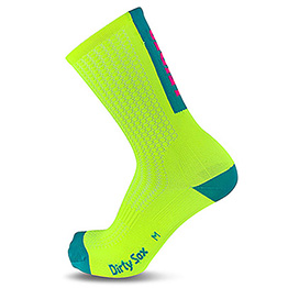 Leider Geil - Compress - Cycling Socks - 20 cm