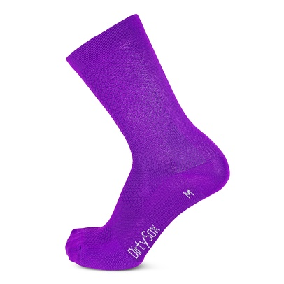 Pure - Morado - Premium Cycling Socks - 20cm