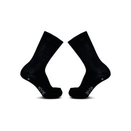 Pure - Black - Premium Cycling Socks - 20cm